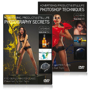 Karl Taylor Pro Series - Advertising, Product and Still Life Photography DVD