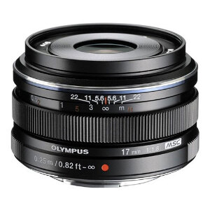 Olympus M.Zuiko 17mm f/1.8 Lens