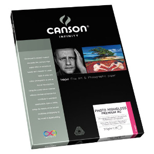 Canson Infinity Photo HighGloss Premium RC 315gsm A3 – 25 Sheets