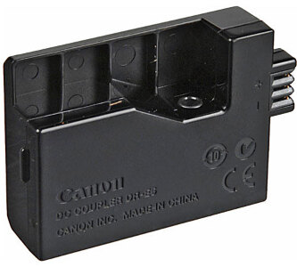 Canon DC Battery Charger Coupler for EOS 450D + 500D - #DRE5