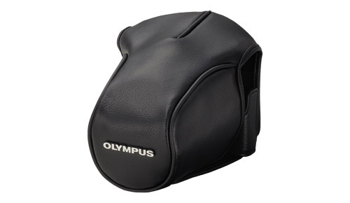 Olympus Full Cover Leather Case for E-M5 OMD Digital Camera CS-36FBC