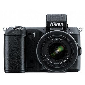 Nikon 1 V2 Mirrorless Camera + 10-30mm VR Lens