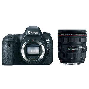 Canon EOS 6D Digital SLR + Canon 24-70mm f/4 L IS USM Lens