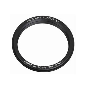 Canon 67mm Macrolite Adapter for EF 100mm F/2.8L IS #MA67