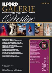 Ilford Galerie Prestige Gold Fibre Silk 310gsm Professional Inkjet Paper A3+ 50 Sheets