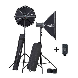 Elinchrom D-Lite RX 4 Softbox To Go – Twin Strobe Kit