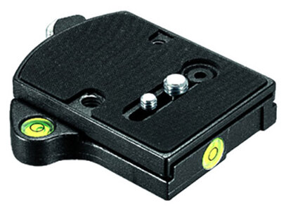 Manfrotto 394 Adaptor + 410PL Plate – Quick Release - RC4