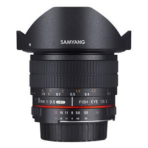 Samyang 8mm f/3.5 Fisheye