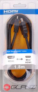 Glanz HDMI (A) to HDMI Mini (C) – 1.8 Metres