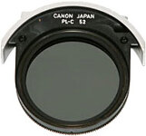 Canon Drop-In Circular Polarising Filter - 52mm