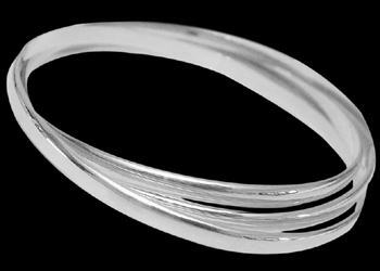 Womens Jewelry - Sterling Silver Bracelets B447