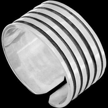 Plus Size Jewelry - Sterling Silver Rings S1000L - Plus Sizes