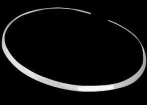 .925 Sterling Silver Neck Cuff N230