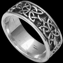 Celtic Jewelry - .925 Sterling Silver Celtic Knot Rings R816