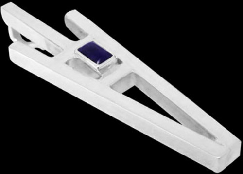 Gemstone Pendants - Lapis Lazuli Sterling Silver Pendants MP039lp