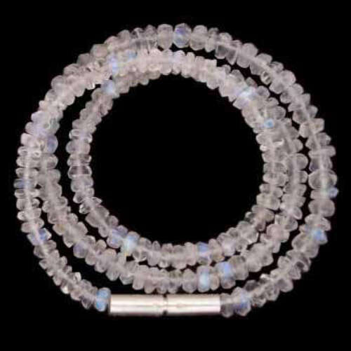 Rainbow Moonstone Beaded Chokers N159