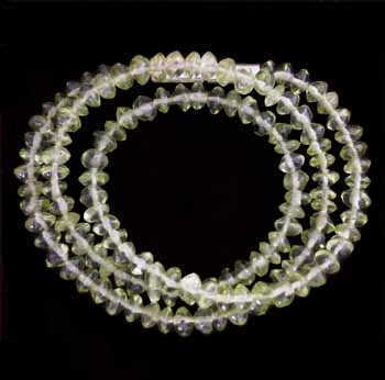 Peridot Beaded Chokers N159