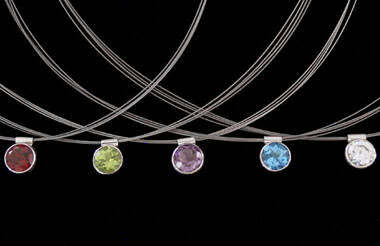 Bridesmaid's Jewellery - Sterling Silver Necklaces N7