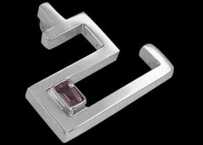 Anniversary Jewelry Gift - Amethyst and Sterling Silver Pendants MP040
