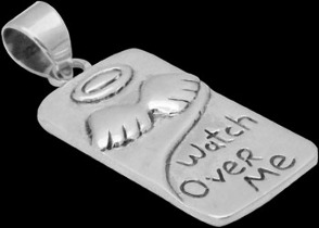 Jewelry - .925 Sterling Silver 'Watch Over Me' Pendants MP816