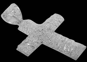 Nordic Jewellery - .925 Sterling Silver Cross Pendants ACpek2