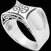 Mens Jewelry - Sterling Silver Rings R10553