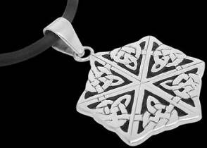 Celtic Jewelry - Sterling Silver Pendants PE C 20 - Celtic Knot