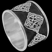 Celtic Jewelry - .925 Sterling Silver Rings Celtic RI C15