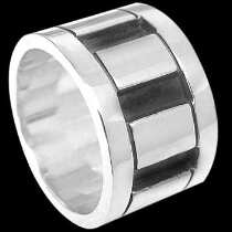 Plus Size Jewelry - Sterling Silver Rings R1-10246L - Plus Sizes
