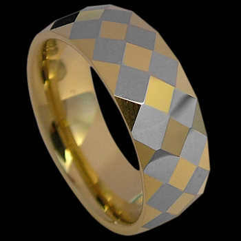 Wedding Bands: Tungsten Rings RN004