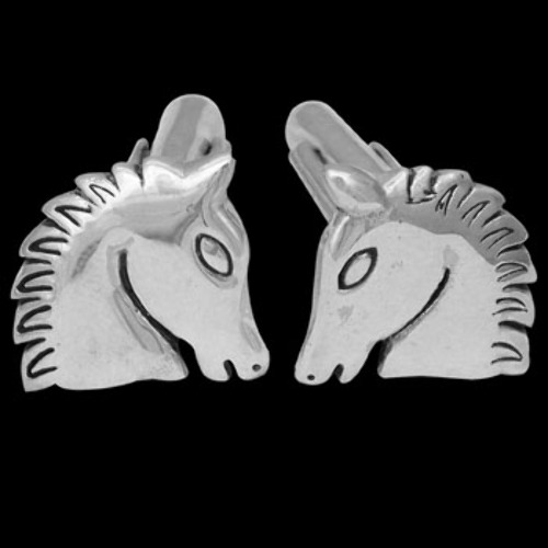 Silver Jewelry - .925 Sterling Silver Cuff Links CF9820