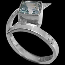 Topaz and .925 Sterling Silver Rings MR23