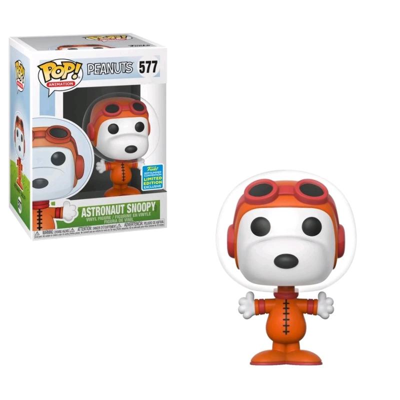 No Helmet Snoopy as Astronaut US Exclusive Pop Peanuts RS -FUN446... Vinyl