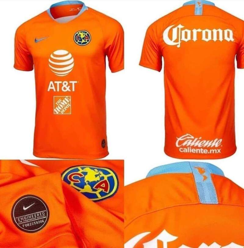new style 640f9 759c3 Details about Club America New Third Jersey 2019/ Tercer Jersey Chespirito