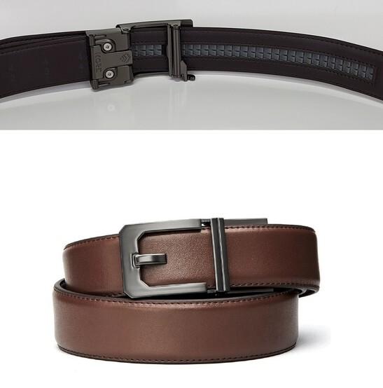 Kore Essentials X3 Gunmetal Brown Leather Micro Adjust Gun Belt Size 24 44 Ebay Makers of trakline fashion and edc belts. ebay