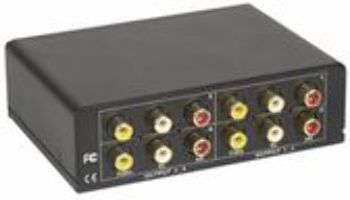 4 Way A/V Stereo Distribution Amplifier ($89.00)