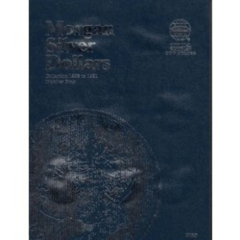 Vintage Morgan Silver Dollar Dollar Whitman Folder 1898-1921 USED