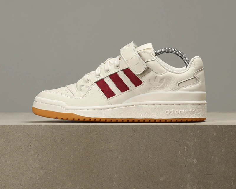 Adidas adidas sneakers forum low FORUM LO FTW white college eight green (AQ1261) FTW white power red (B37769) [returned goods, exchange