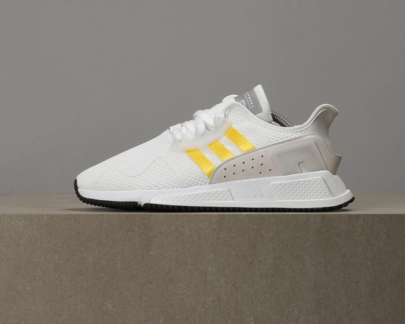the best attitude b5c2c cb7d1 Details about Adidas EQT Cushion ADV - White / EQT Yellow