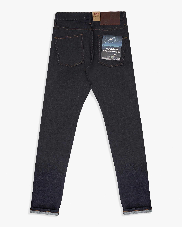 Naked /& Famous Denim Mens Super Guy Natural Indigo Selvedge Jeans