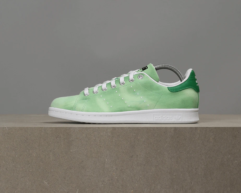 brand new 20ae0 be3dd Details about Adidas x Pharrell Williams Hu Holi Stan Smith - Green / White
