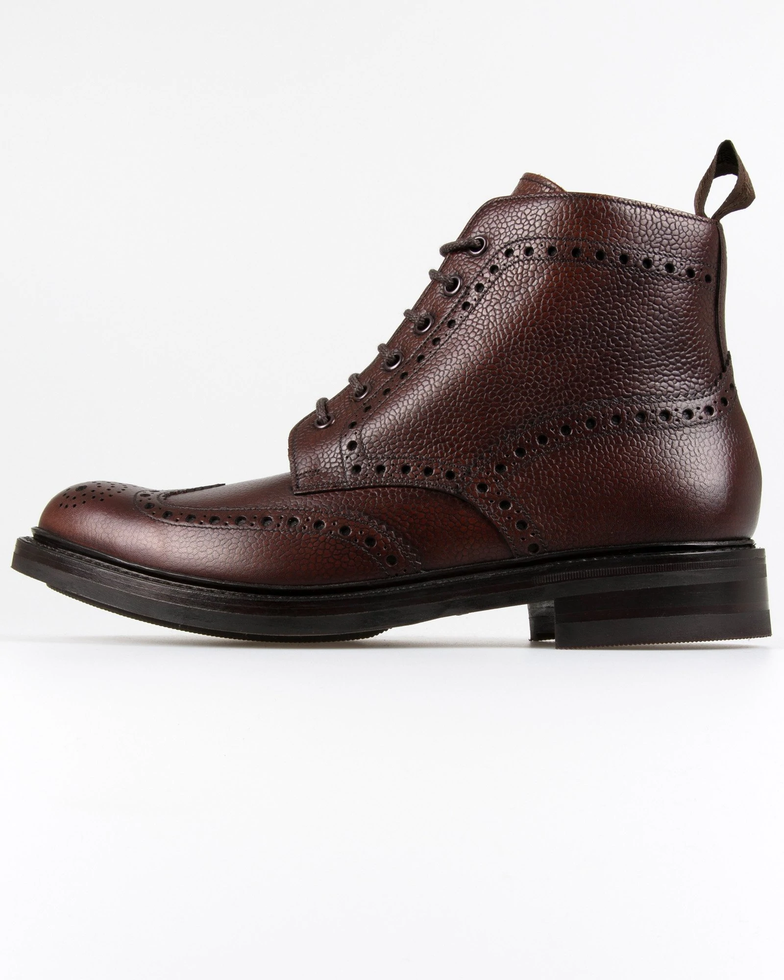 Loake Bedale Brogue Boot - Oxblood