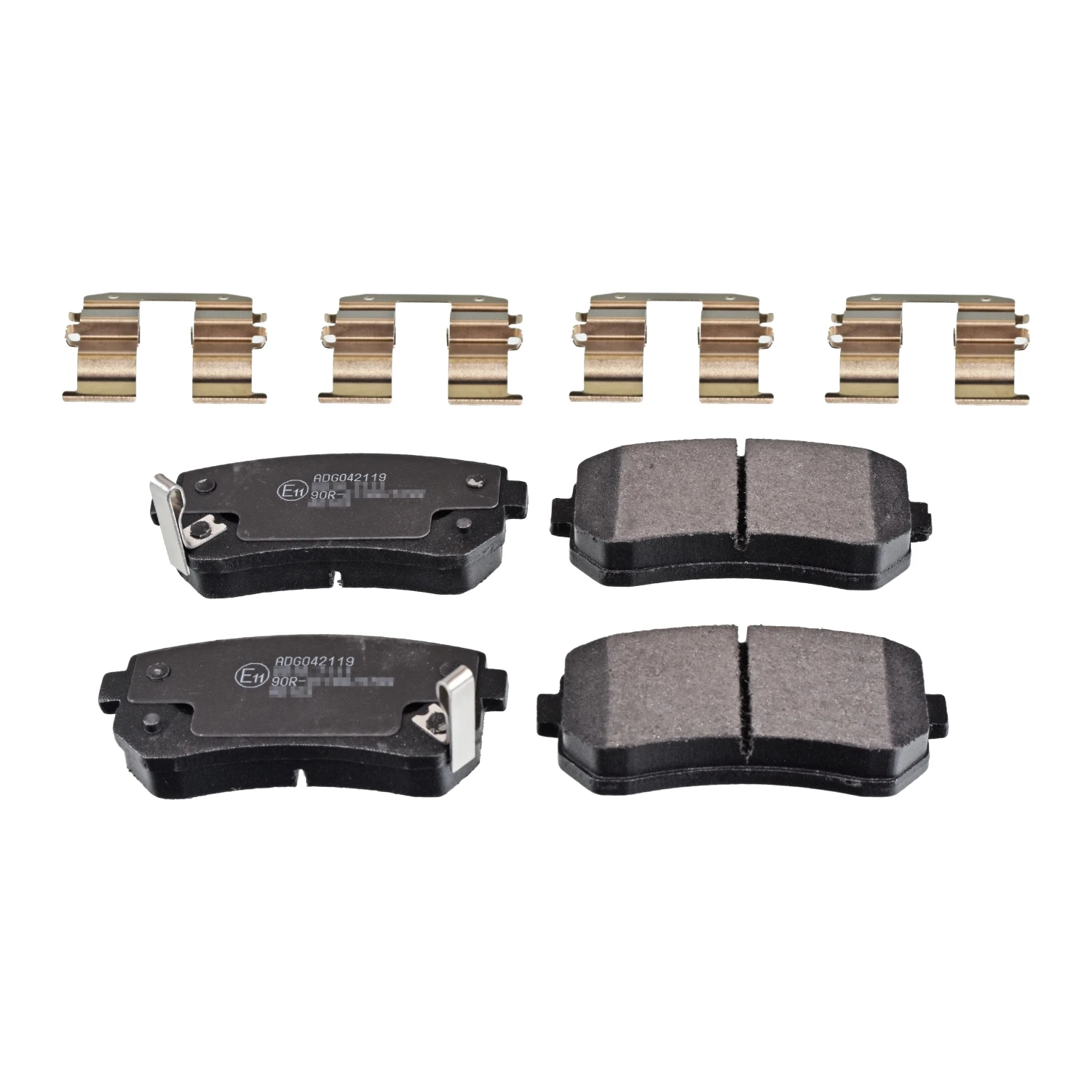 Fits Hyundai ix35 1.7 CRDi Genuine Borg /& Beck Rear Brake Pads Set