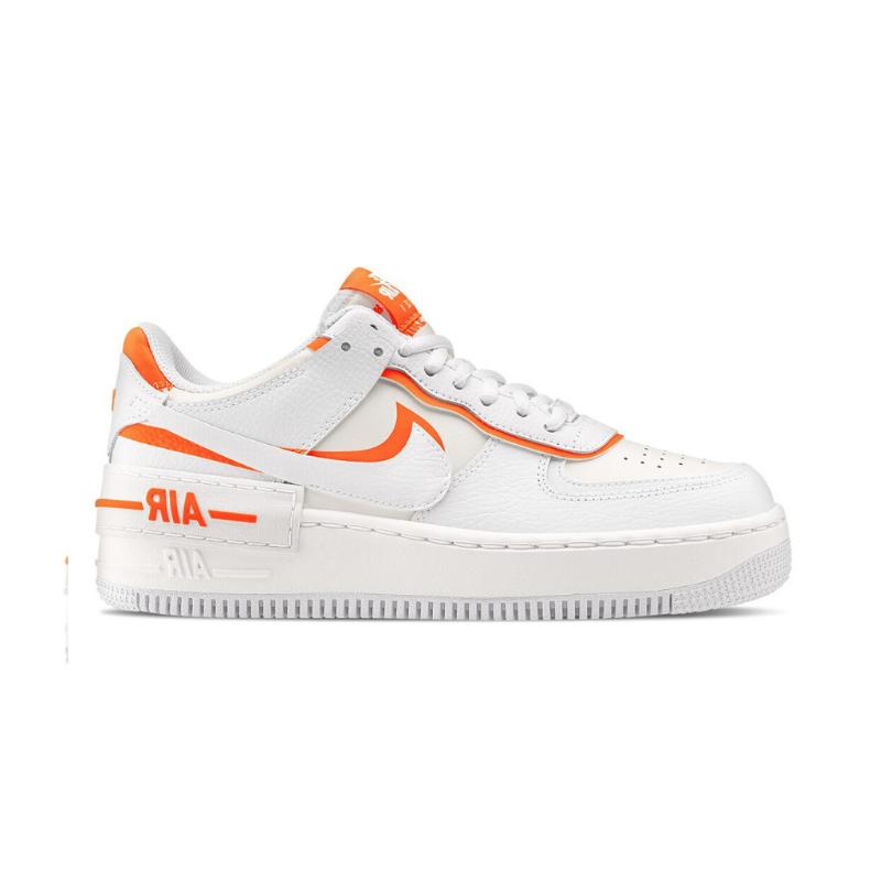 Nike Air Force 1 Shadow Orange White | eBay