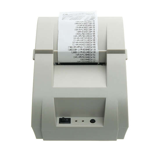 Details about Mini USB 58mm POS Thermal Dot Receipt Bill Printer Set Roll  Paper Retail Stores