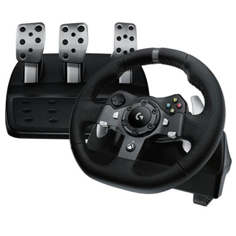 Details about Logitech G920 Driving Force Racing Wheel For Xbox One and PC