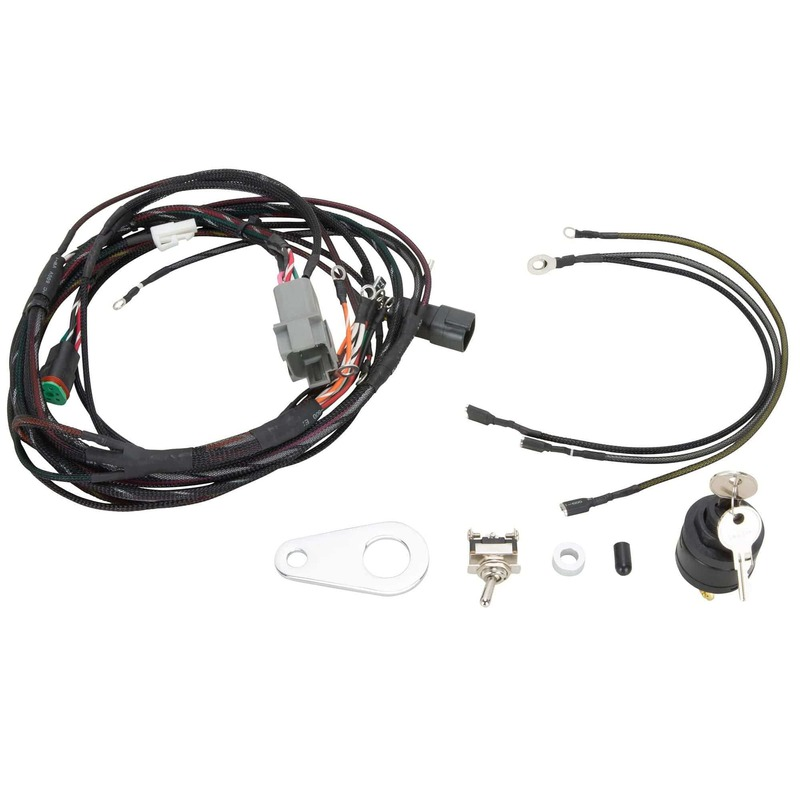 sportster treatment custom wiring harness kit 1994-96 harley-davidson  sportster | ebay  ebay