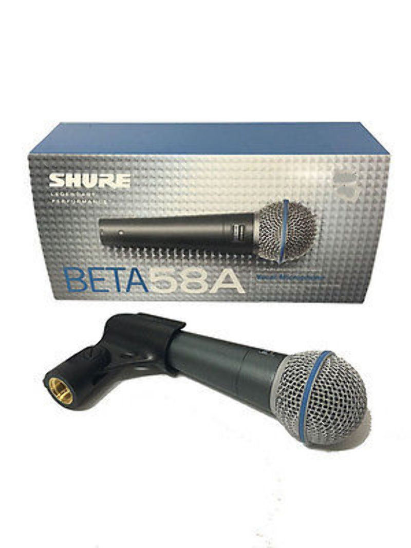 New Shure Beta 58a Vocal Microphone Ebay