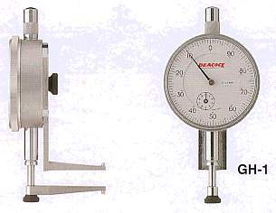 Model # GH-1 DIAL HOLE GAUGE 0.01 x 10 - 50 mm. Suitable for internal bores recesses or grooves.