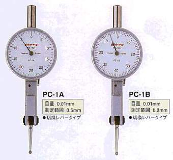 Model # PC-1B - DIAL TEST INDICATOR 0.01 x 0.8 mm CHANGE LEVER SERIES